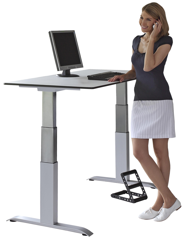 sitz steh tisch von officeplus ergon green 2 ergonomieblog. Black Bedroom Furniture Sets. Home Design Ideas